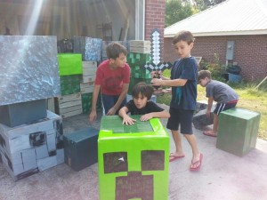 Changes Psychology Minecraft boxes