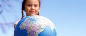 Changes Psychology girl globe