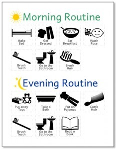 Changes Psychology Improve Routine picture planner