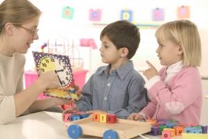 Changes Psychology Kindy kids telling time