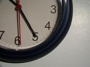Changes Psychology clock estimating time