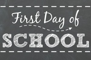 Changes Psychology First Day of School