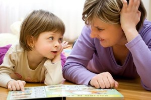 Changes Psychology mum and kid reading