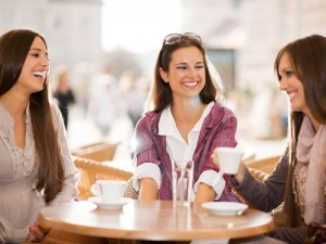 Changes Psychology Mums at cafe