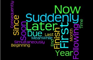 Changes Psychology Black time words