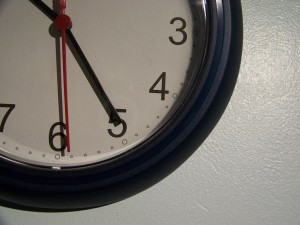 Changes Psychology clock estimating time